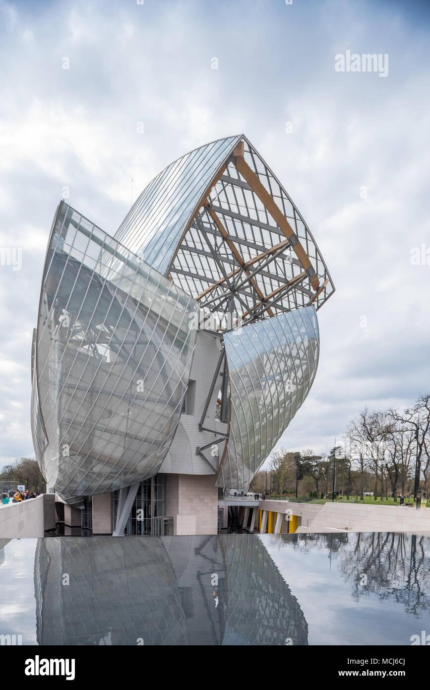 Francia Paris 1 De Abril De 2018 Fondation Louis Vuitton