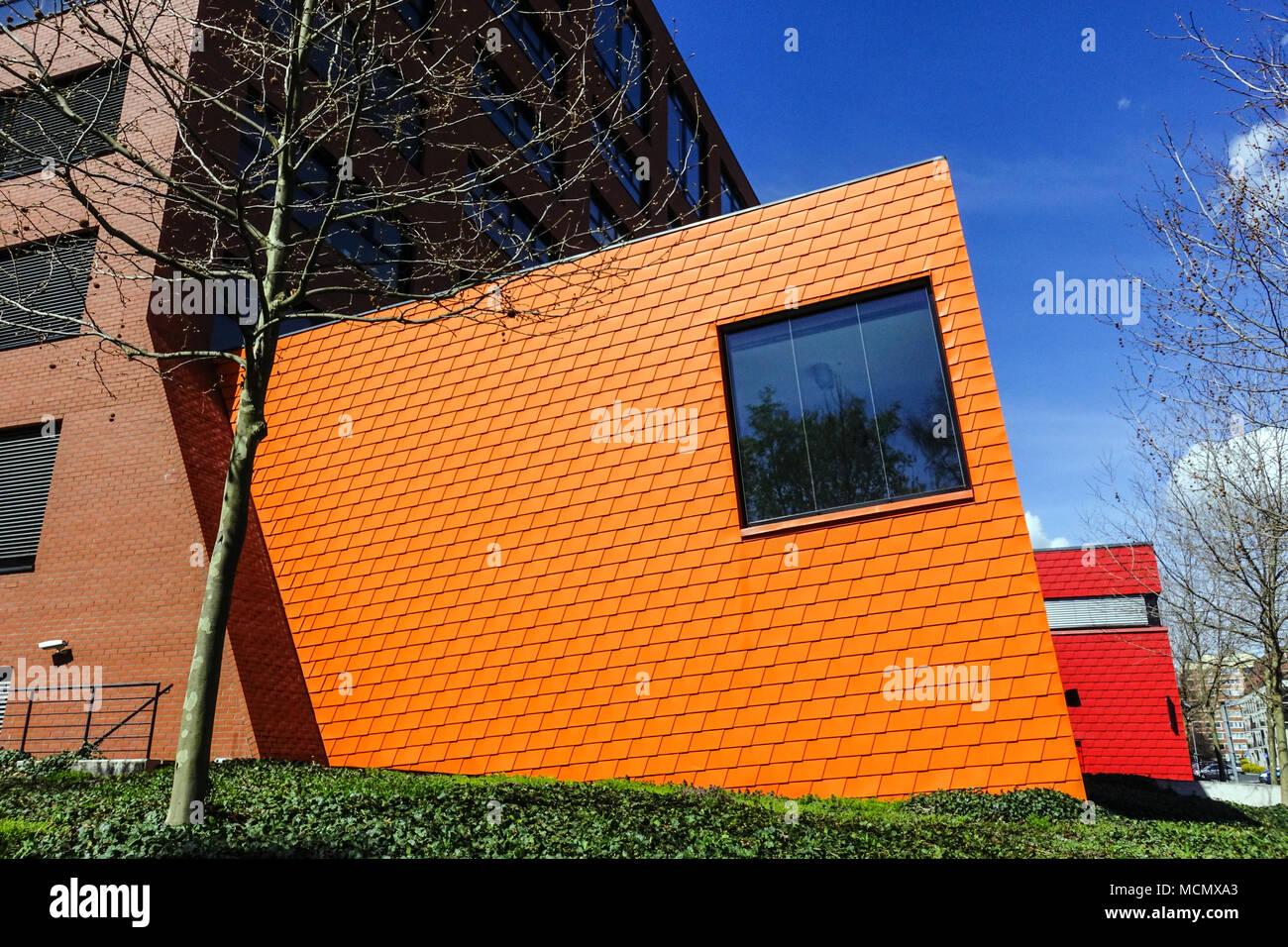 CVUT, la Universidad Técnica Checa, Facultad de Arquitectura, campus universitario, Dejvice, Praga, República Checa Imagen De Stock