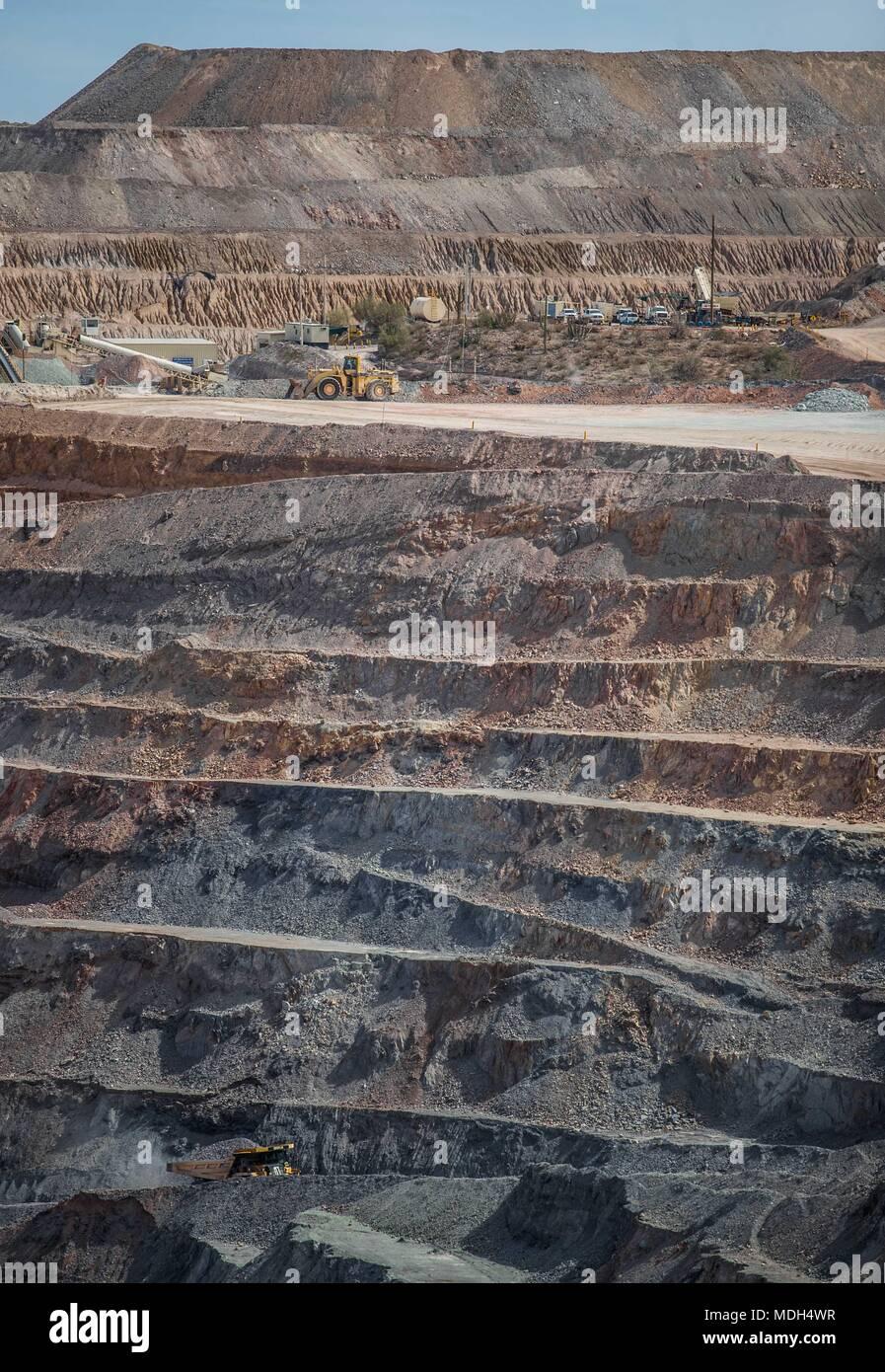 Los Bloques De La Mina De Oro El Chanate Que Es Parte De Los