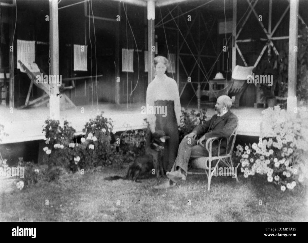 Edith Y Bertram Tovey En Su Casa De San Jorge Ubicación St