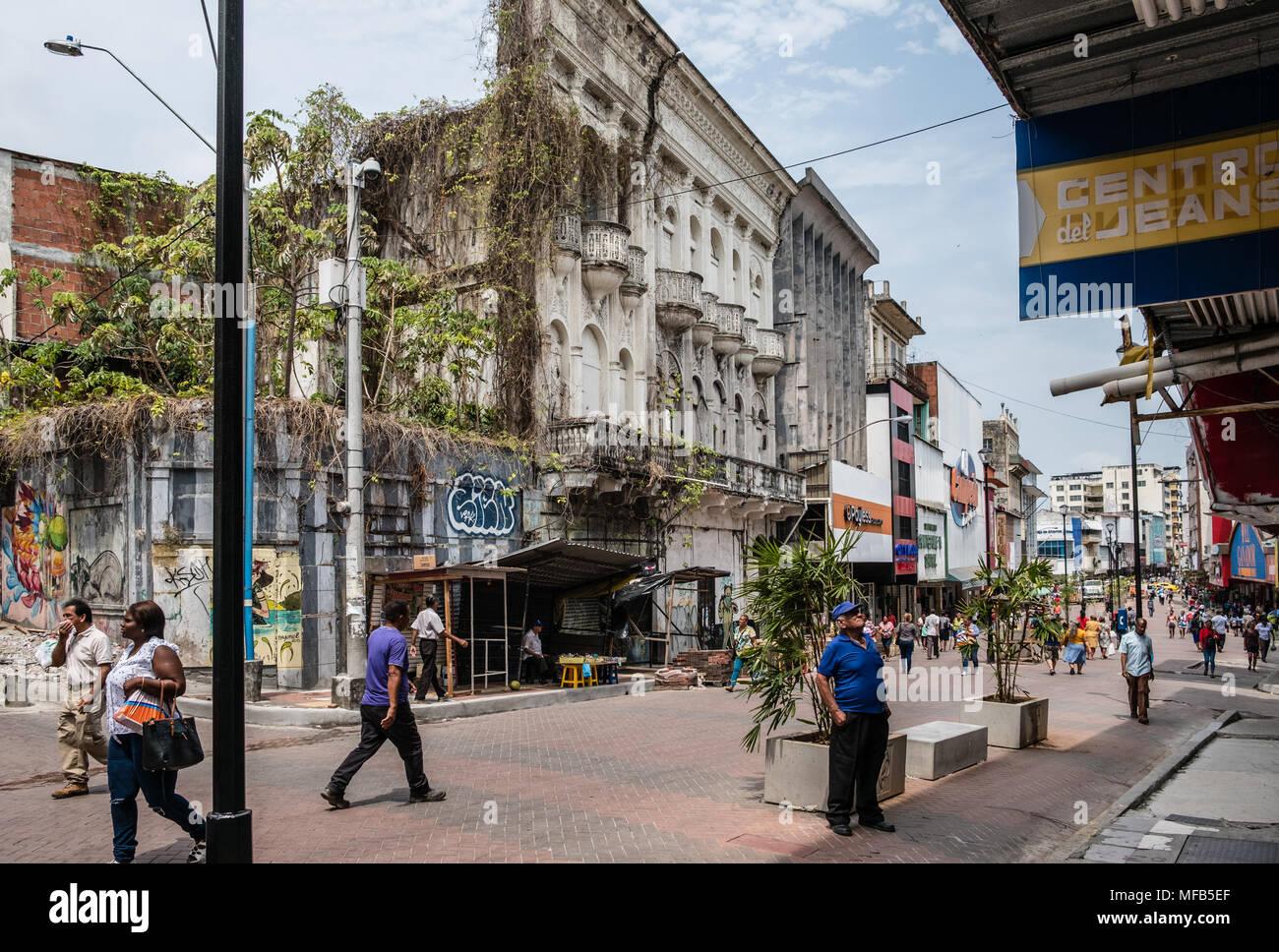 Ciudad de Panamá, Panamá - marzo 2018: Gente en la ...
