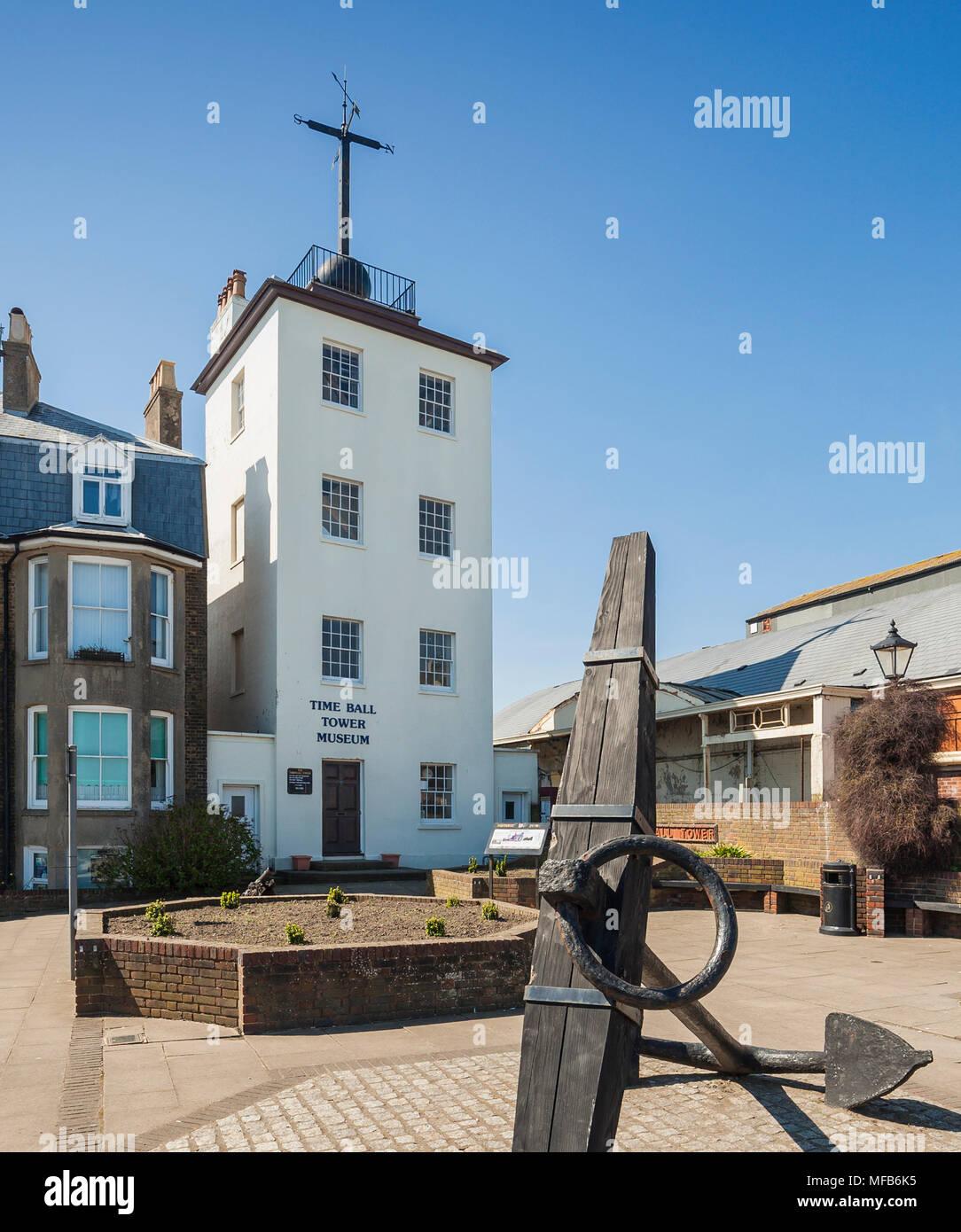 El Museo de la torre de bolas, tratar, Kent. Imagen De Stock