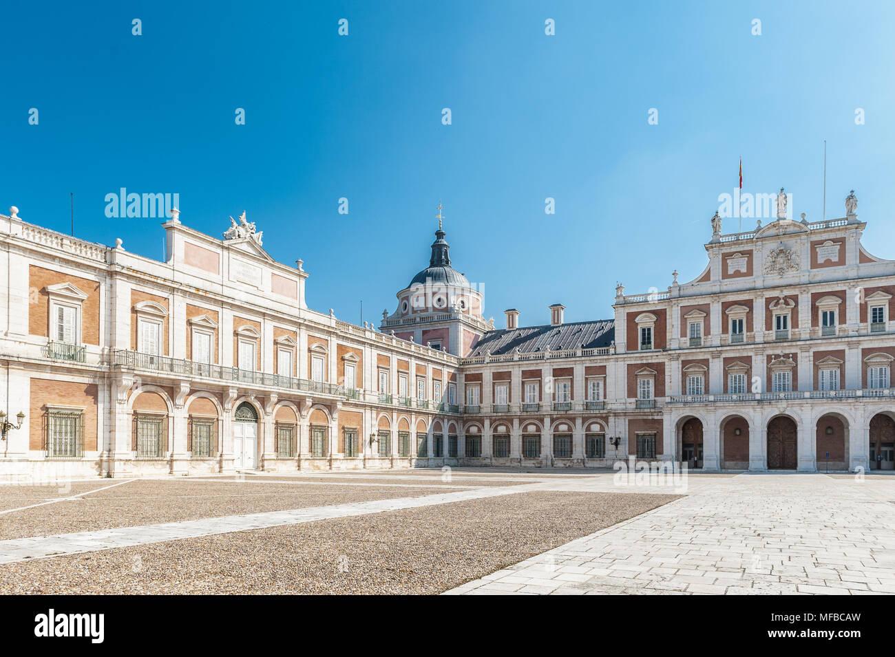 Royal Palace Madrid Aranjuez Interior Imágenes De Stock & Royal ...