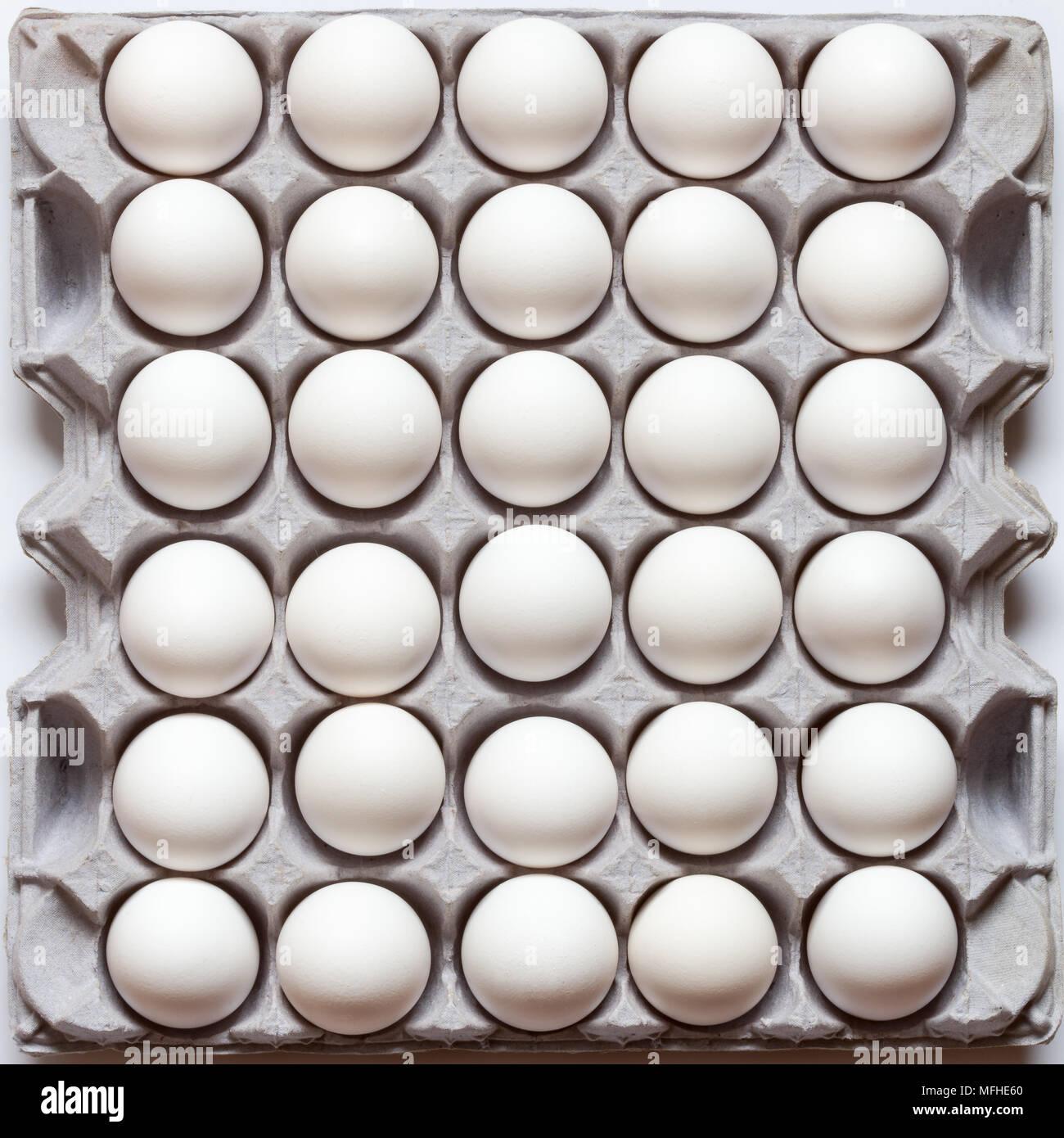 Un cartón de huevos 39 Imagen De Stock
