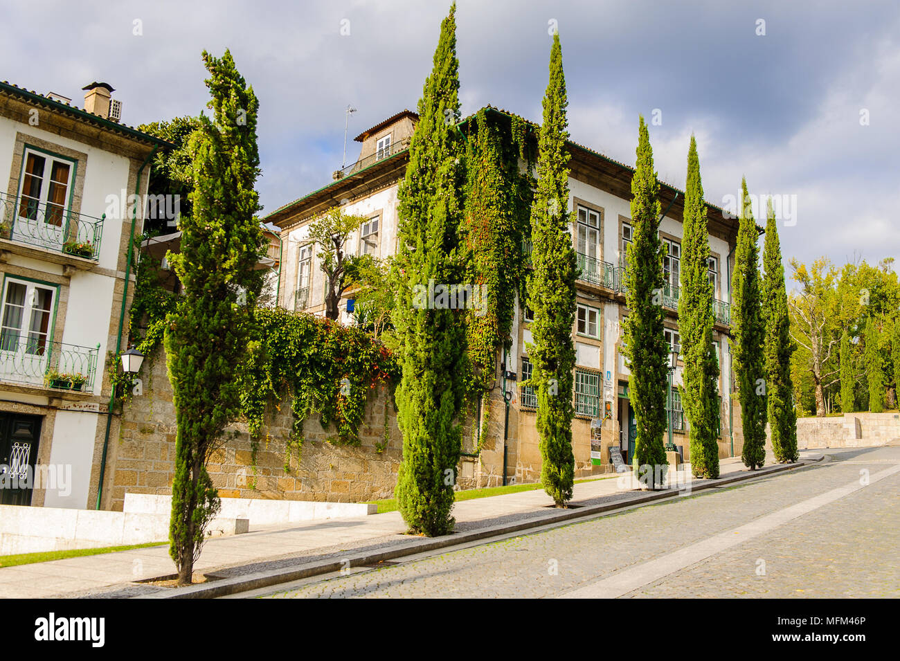 La arquitectura del centro histórico de Guimaraes db584ff7c5273