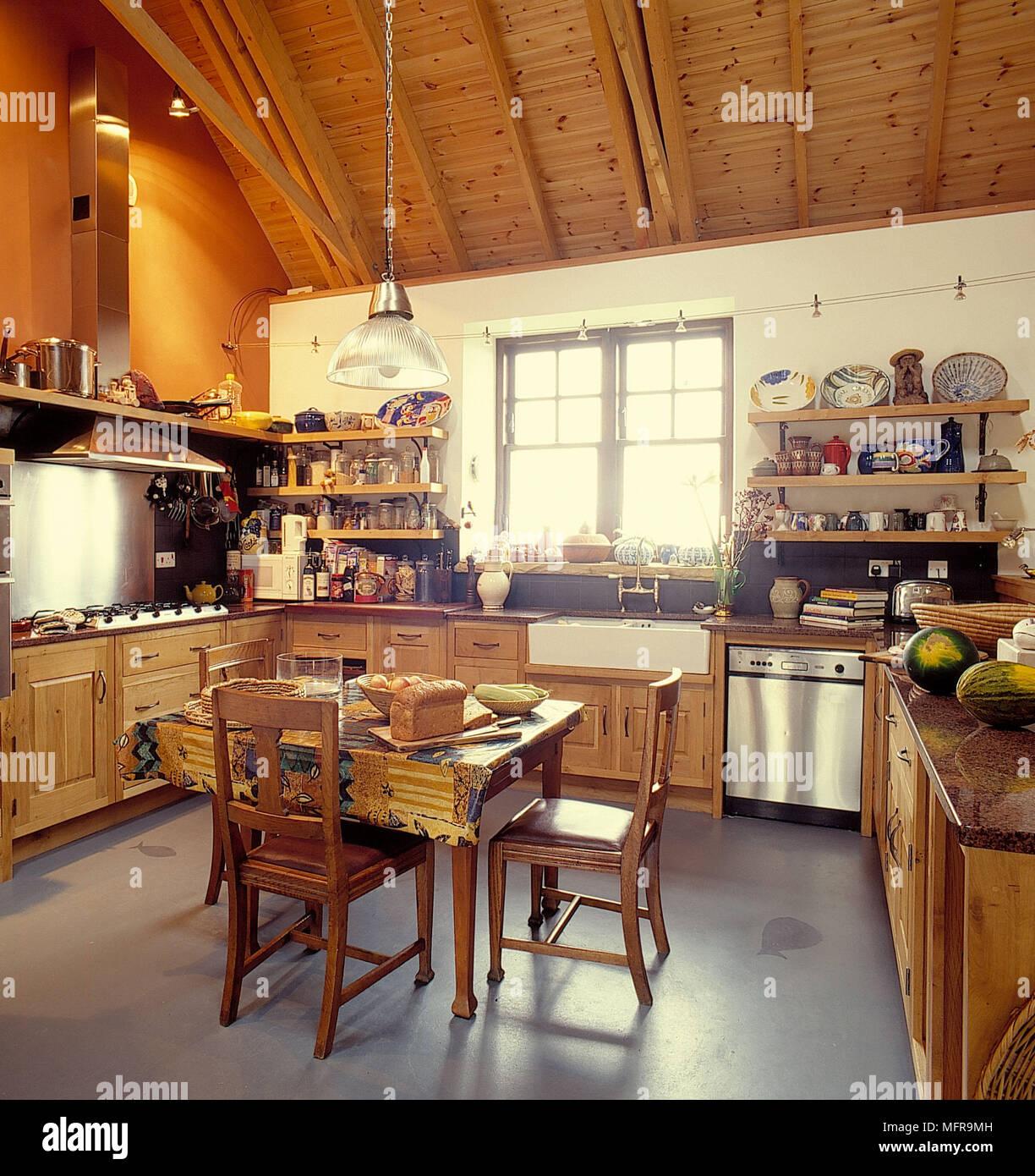 Hermosa Pequeña Cocina Del País Francés Galería - Como Decorar la ...