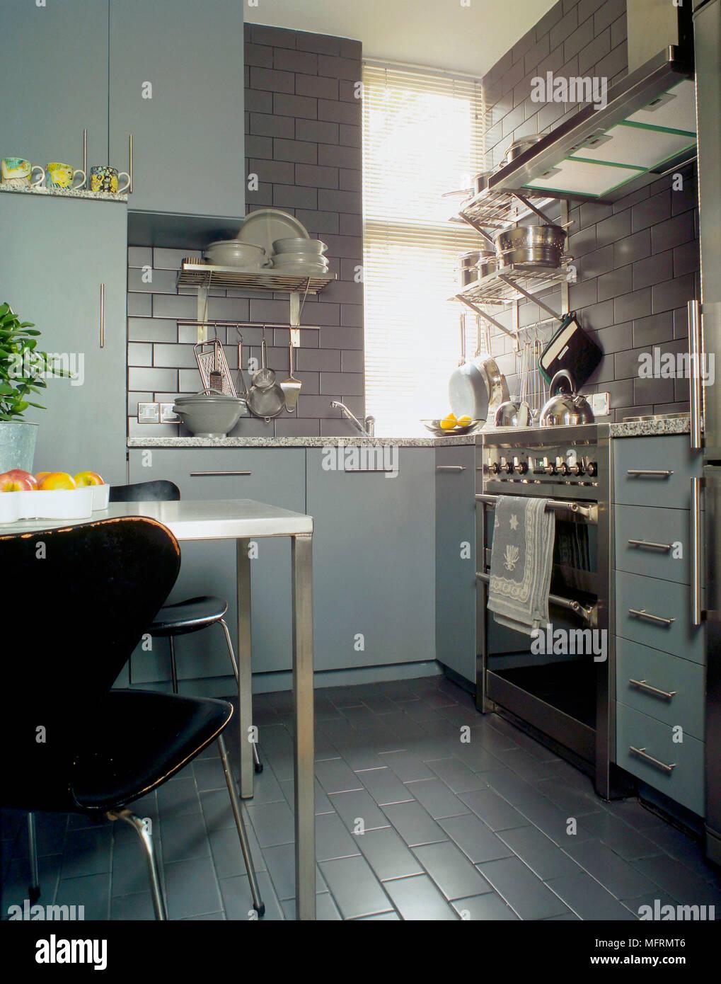 Modern Kitchen Diner Imágenes De Stock & Modern Kitchen Diner Fotos ...