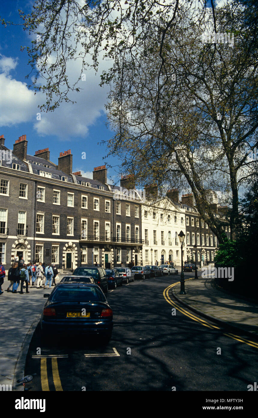 Edificios Georgianos En Bedford Square Bloomsbury Londres