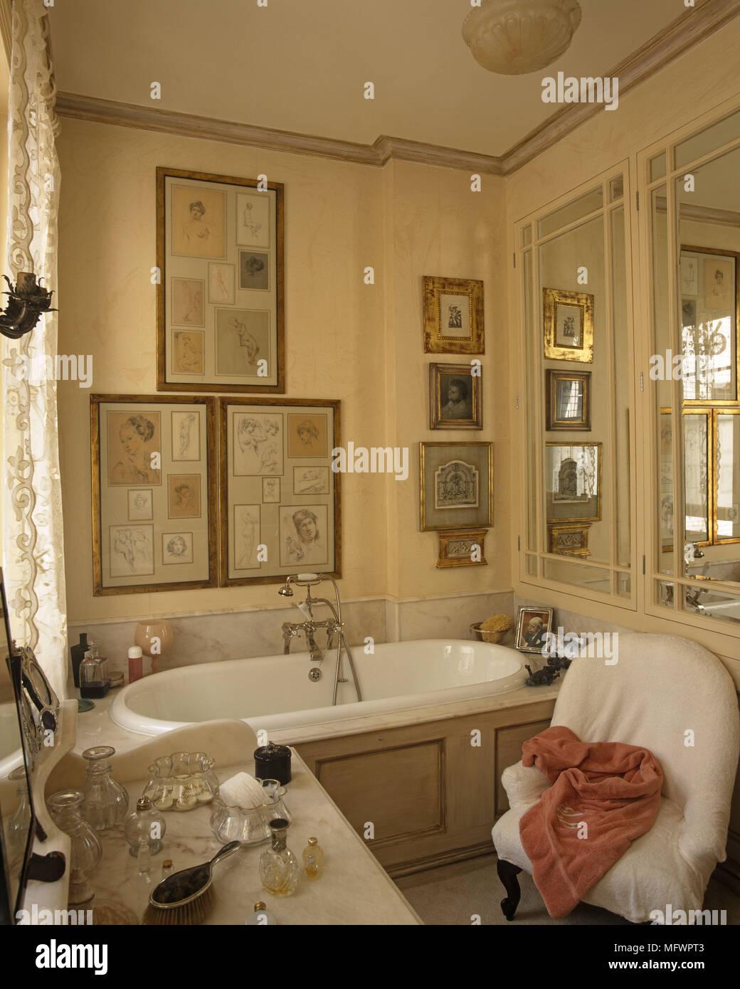 Contemporáneo Baño Arte Enmarcado Embellecimiento - Ideas de Arte ...
