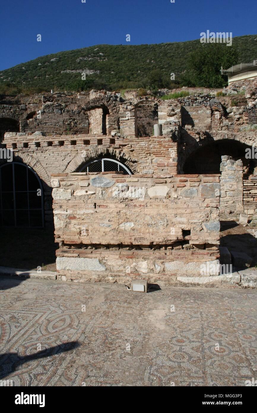 Estos Son Tiendas Y Casas Terraza Histórica En Efeso Donde
