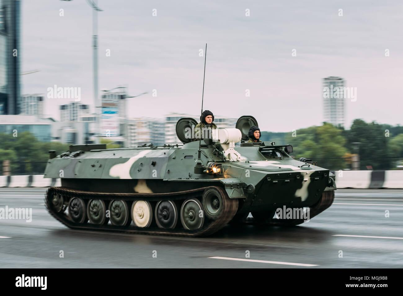 c0eb0334b Multi-propósito soviético totalmente blindado auxiliar anfibio vehículo  oruga MT-