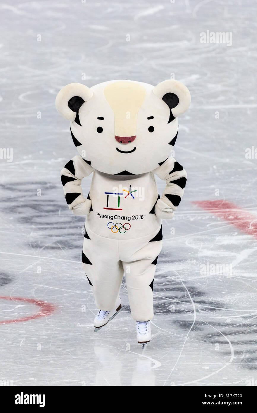 Soohorang La Mascota De Los Juegos Olimpicos De Invierno