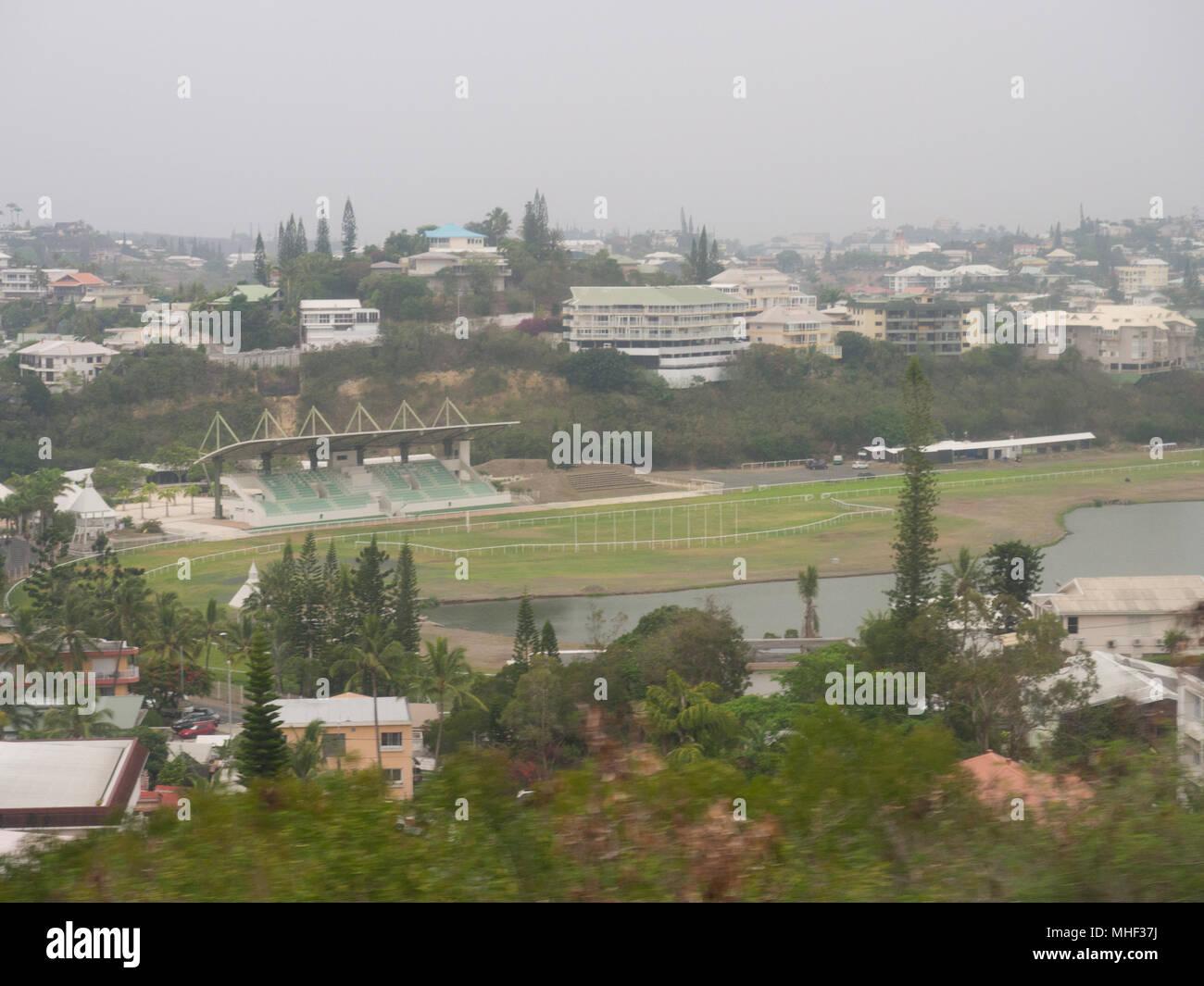 Campo de Deportes de Noumea. Imagen De Stock