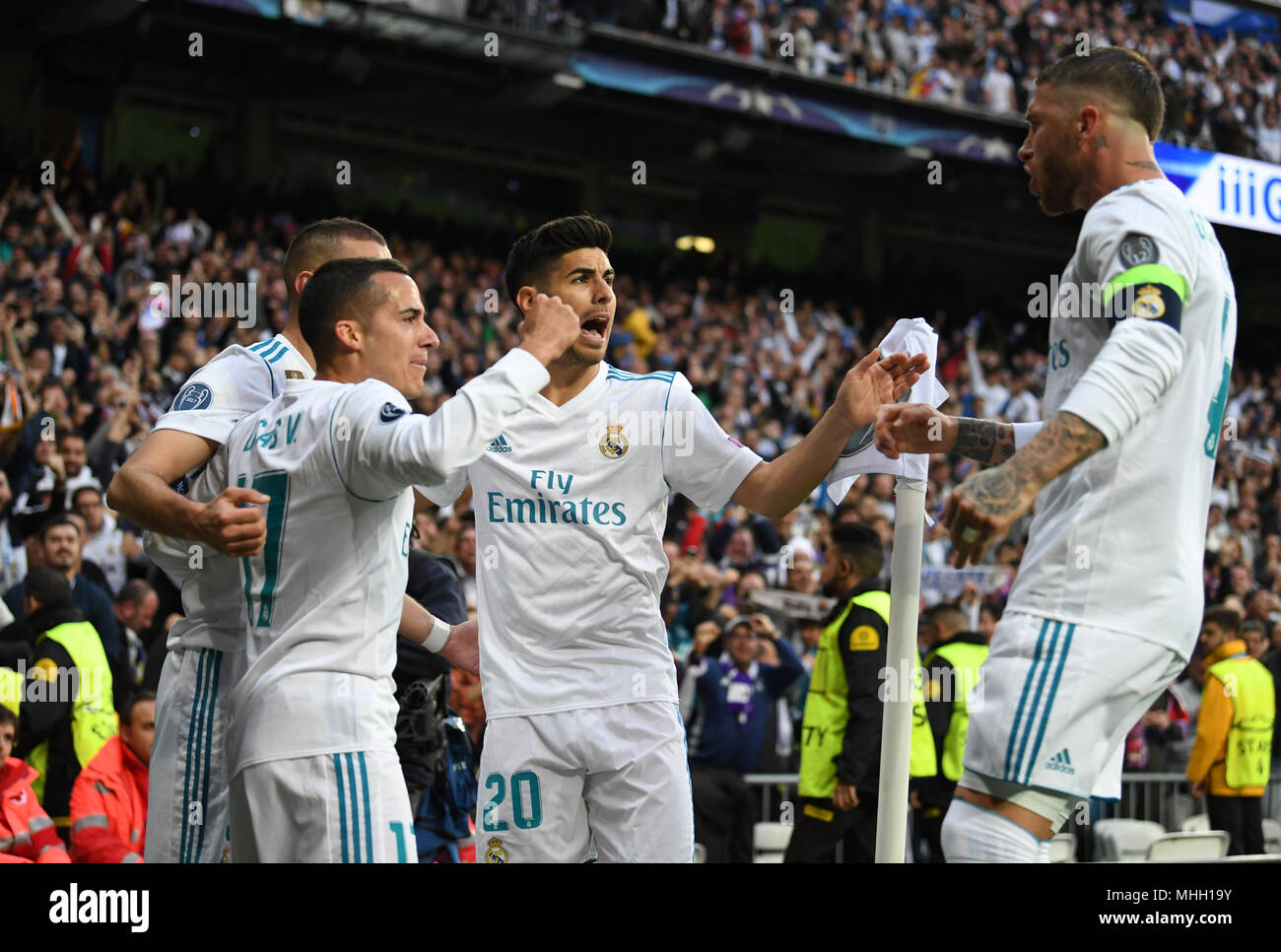 Real Madrids Lucas Vazquez Marco Imágenes De Stock & Real Madrids ...