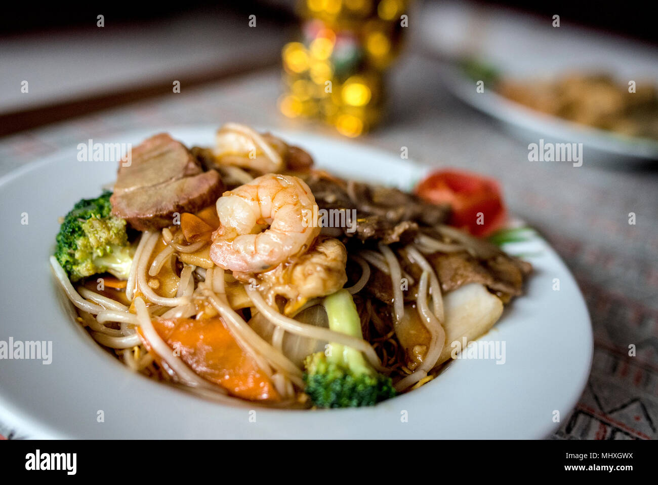 Comida China Imagen De Stock