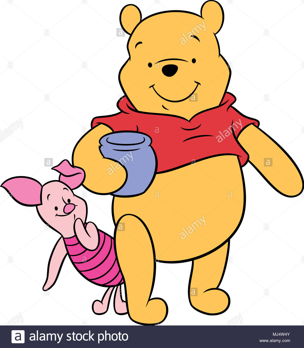 Winnie The Pooh Isolated Imágenes De Stock & Winnie The Pooh ...