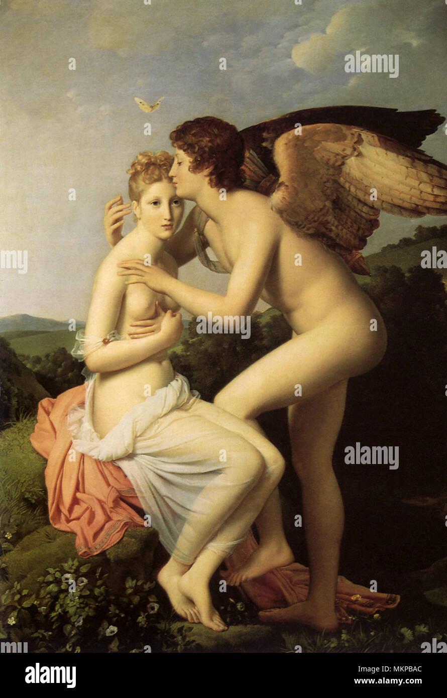 Amor y Psique Imagen De Stock