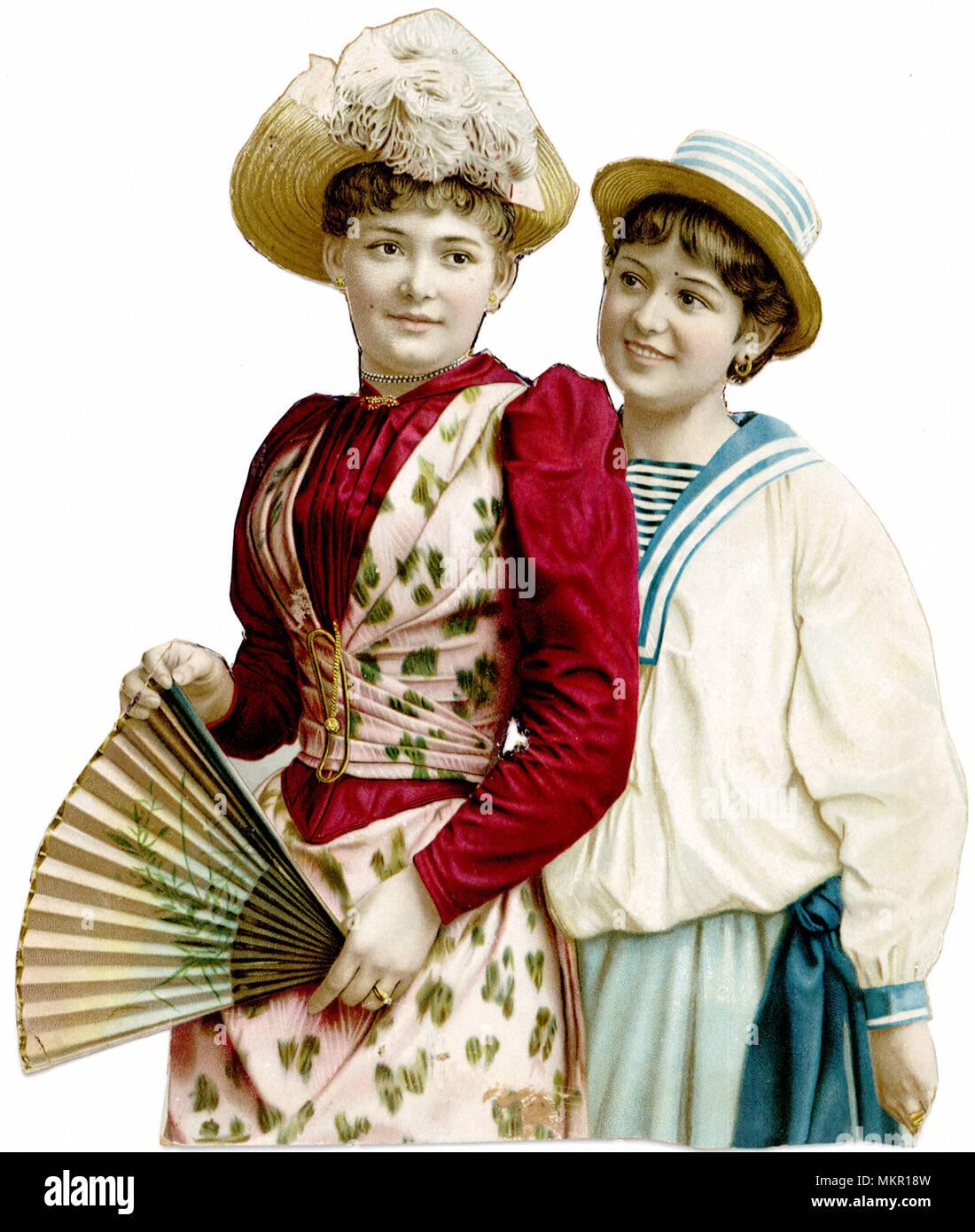 be9605db9 ... dibujo acuarela ropa dama vestidos vestido azul-sabe de moda ropa de moda  diseño de moda-diseño. ID de la imagen  BA5WW9 (RM). Mujer en traje y  sombrero ...