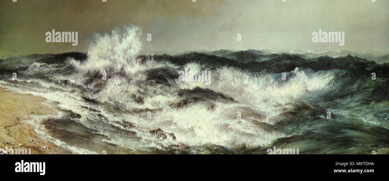 La muy resonante mar Imagen De Stock