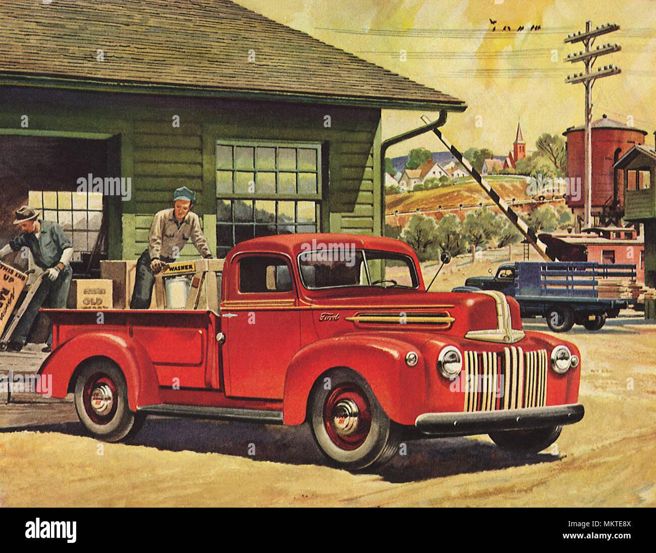 1946 Ford Truck Fotografia De Stock Alamy