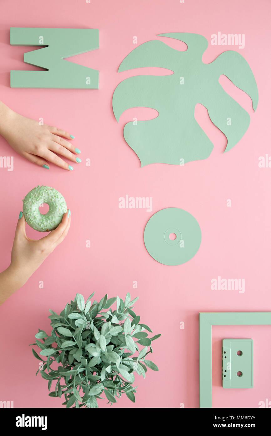 Famoso Uñas De Color Rosa Y Plata Prom Ornamento - Ideas de Pintar ...