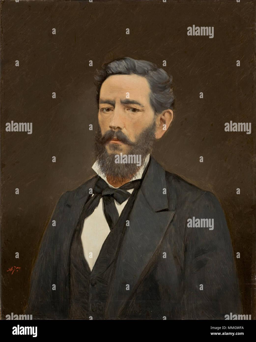 Almeida Júnior - Busto Masculino Imagen De Stock