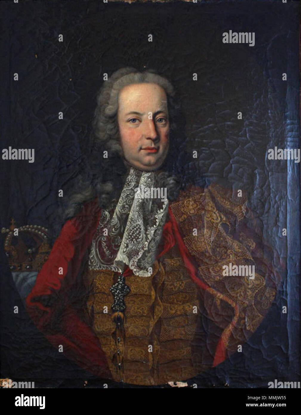 Francisco I Emperador Del Sacro Imperio Romano Germánico 1708 1765 Circa 1741 1750 Emperador Del Sacro Imperio Romano Germánico Francisco I Fotografía De Stock Alamy