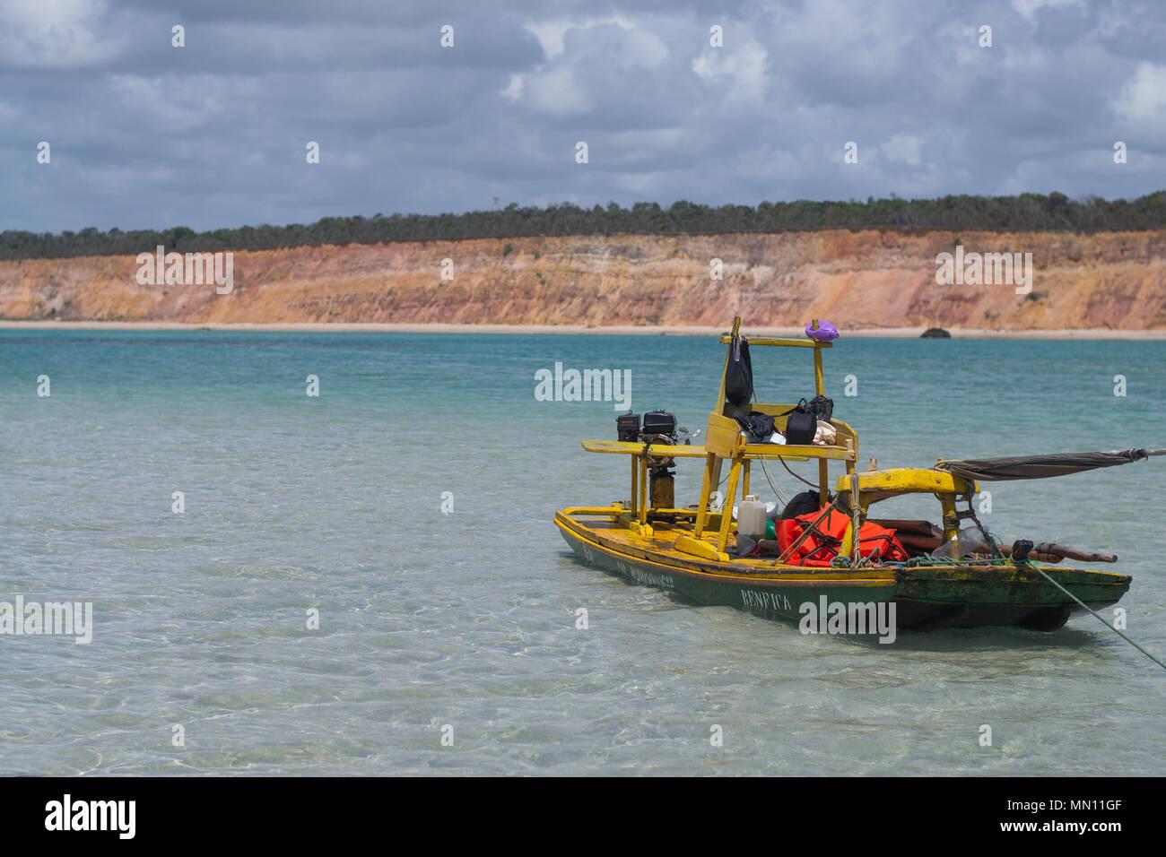 Praia do Carro Quebrado, Alagoas, Brasil Imagen De Stock