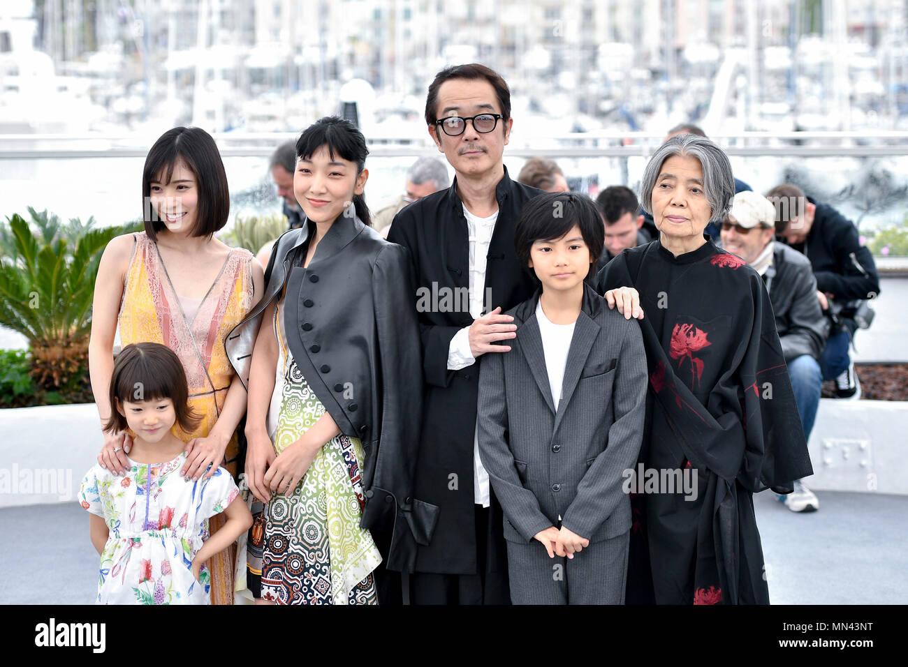 180514 Cannes 14 De Mayo De 2018 Xinhua Los Miembros Del