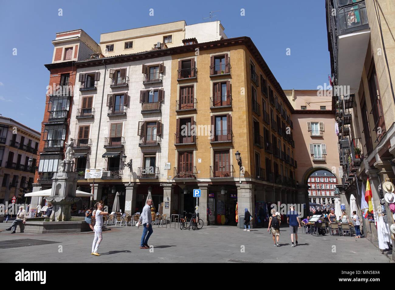 Plaza de la provincia, Madrid Imagen De Stock