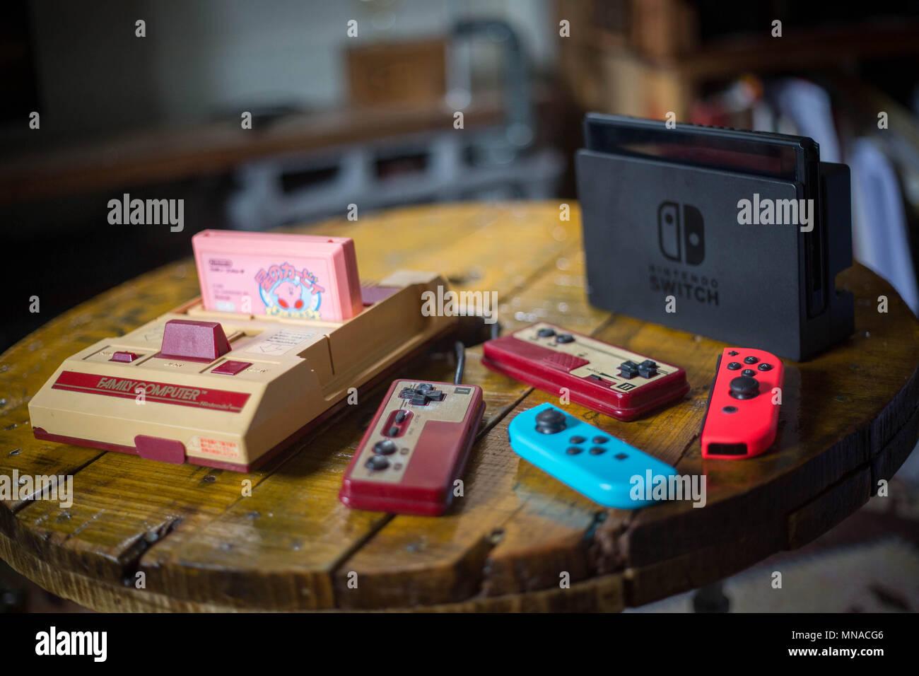 Un Viejo Vintage Mercado Japones Version De Nintendo Familia