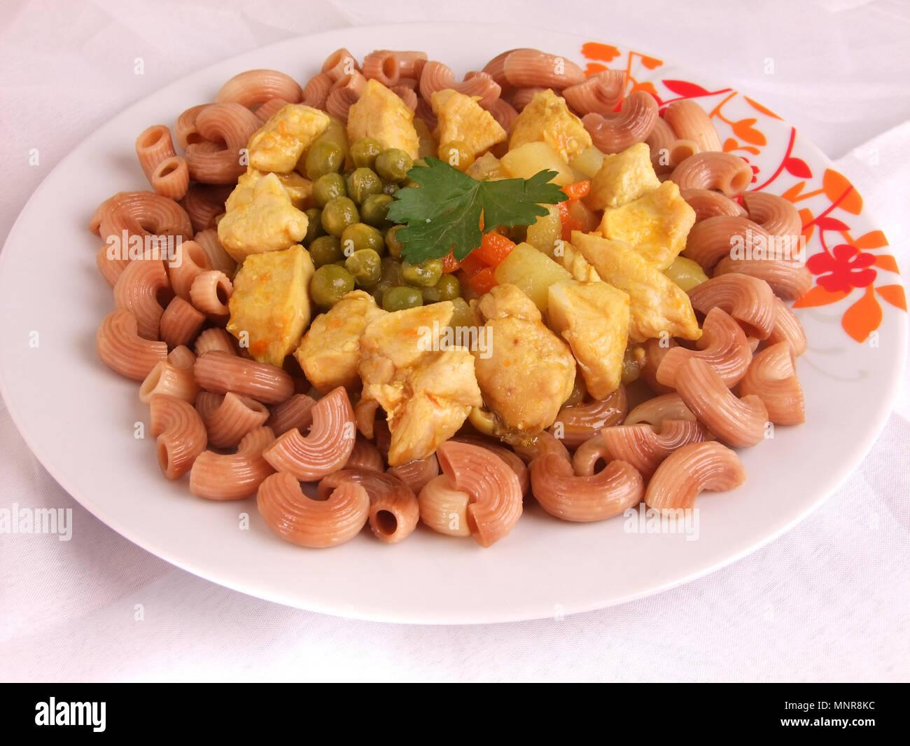 Comida Peruana tradicional Foto de stock