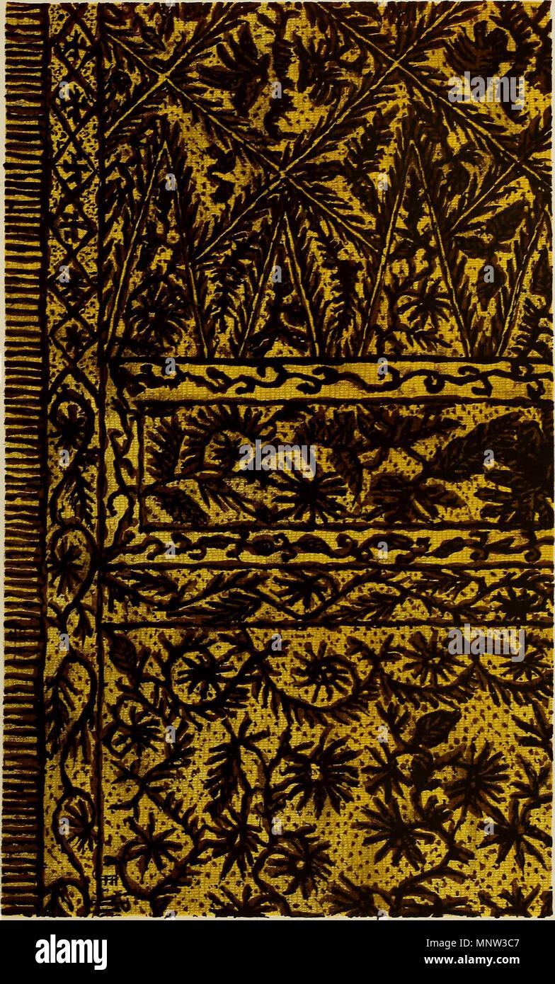'De inlandsche kunstnijverheid en Nederlandsch Indië' (1912) Foto de stock
