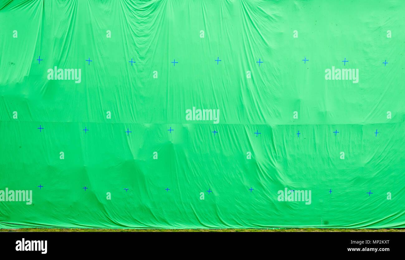 Gigante Pantalla Verde Chroma Key Antecedentes Comerciales