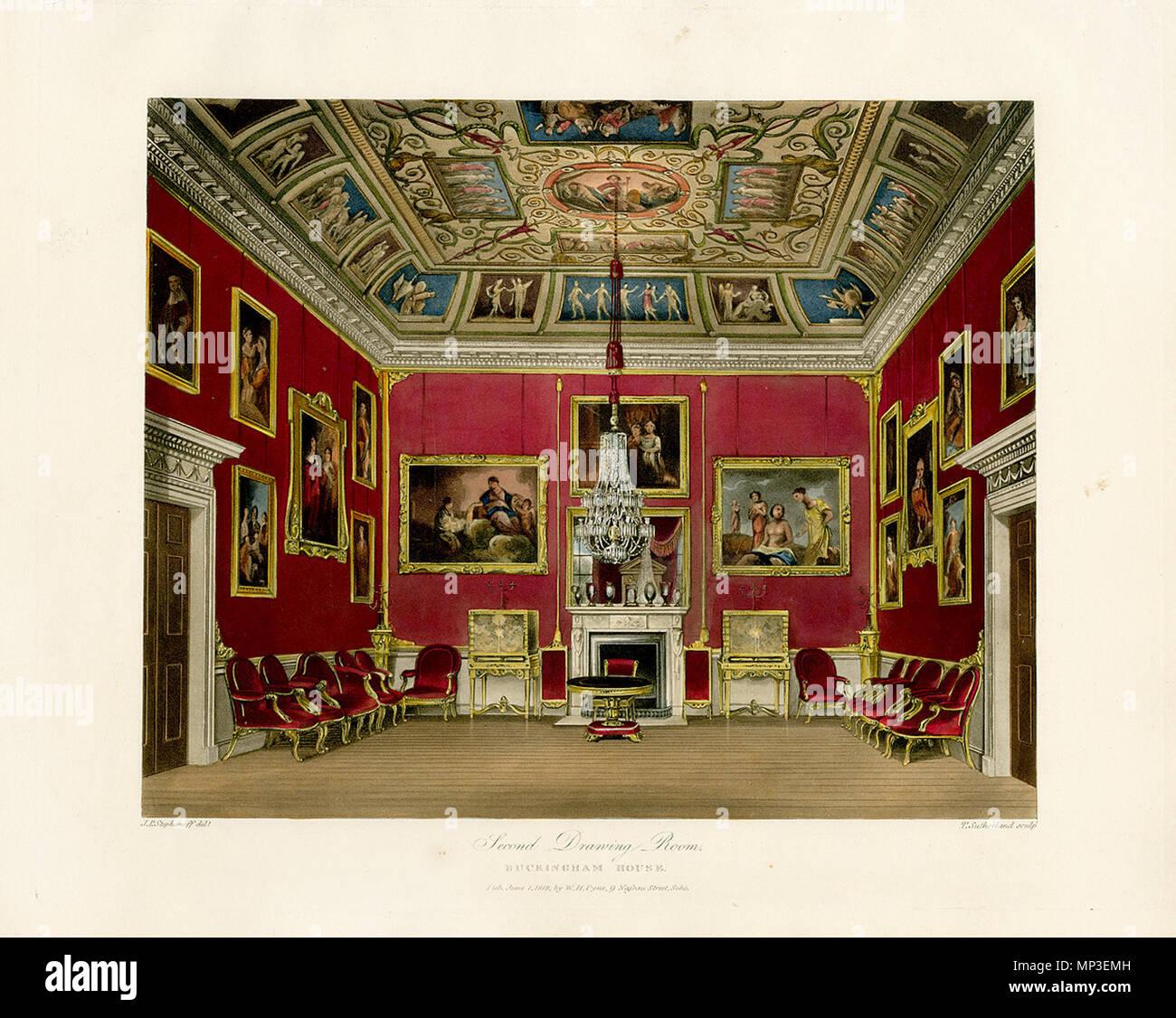 Segundo cuarto de dibujo, Buckingham House . Inglés: el fin de la ...