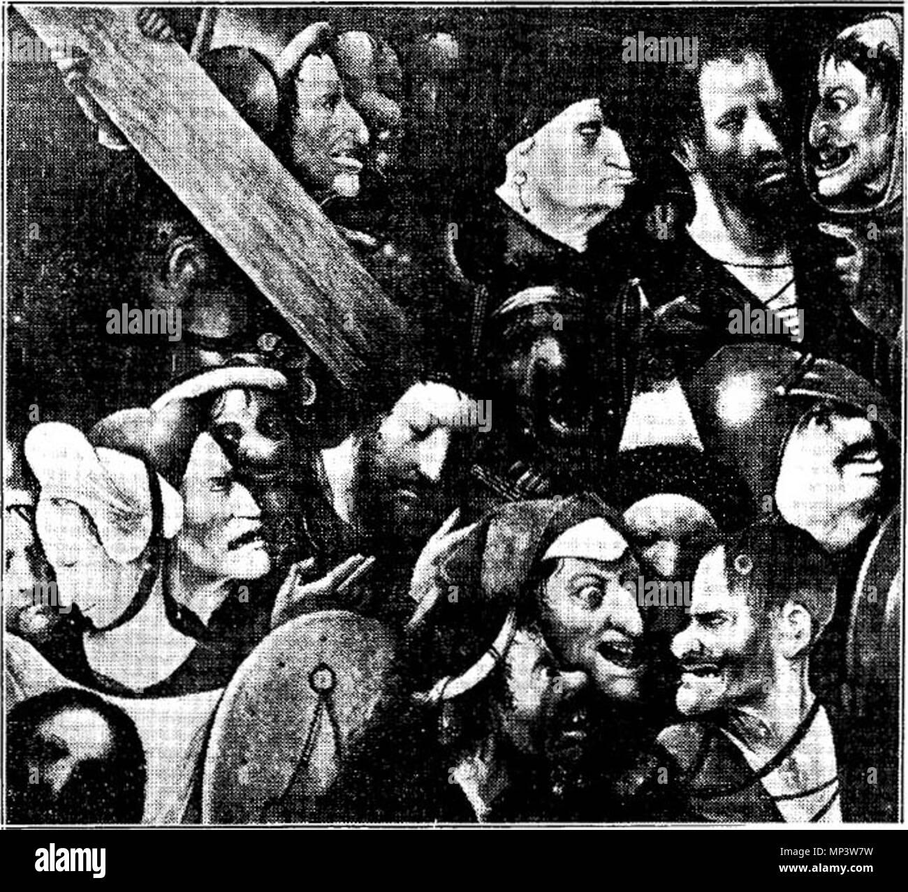 Cristo Llevando La Cruz Entre 1510 Y 1535 719 Jheronimus Bosch O