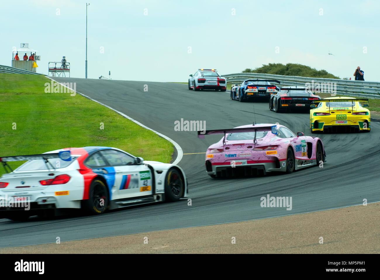 Circuito Holanda : Coche de seguridad líder del circuito la pista de carreras de