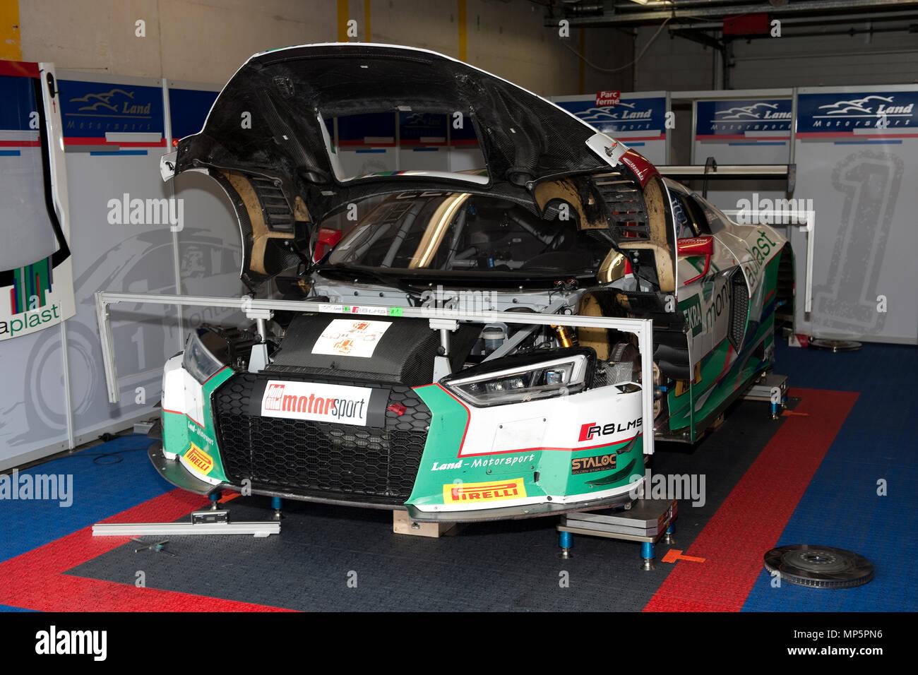 Circuito Holanda : Audi en la casilla la pista de carreras de circuito zandvoort