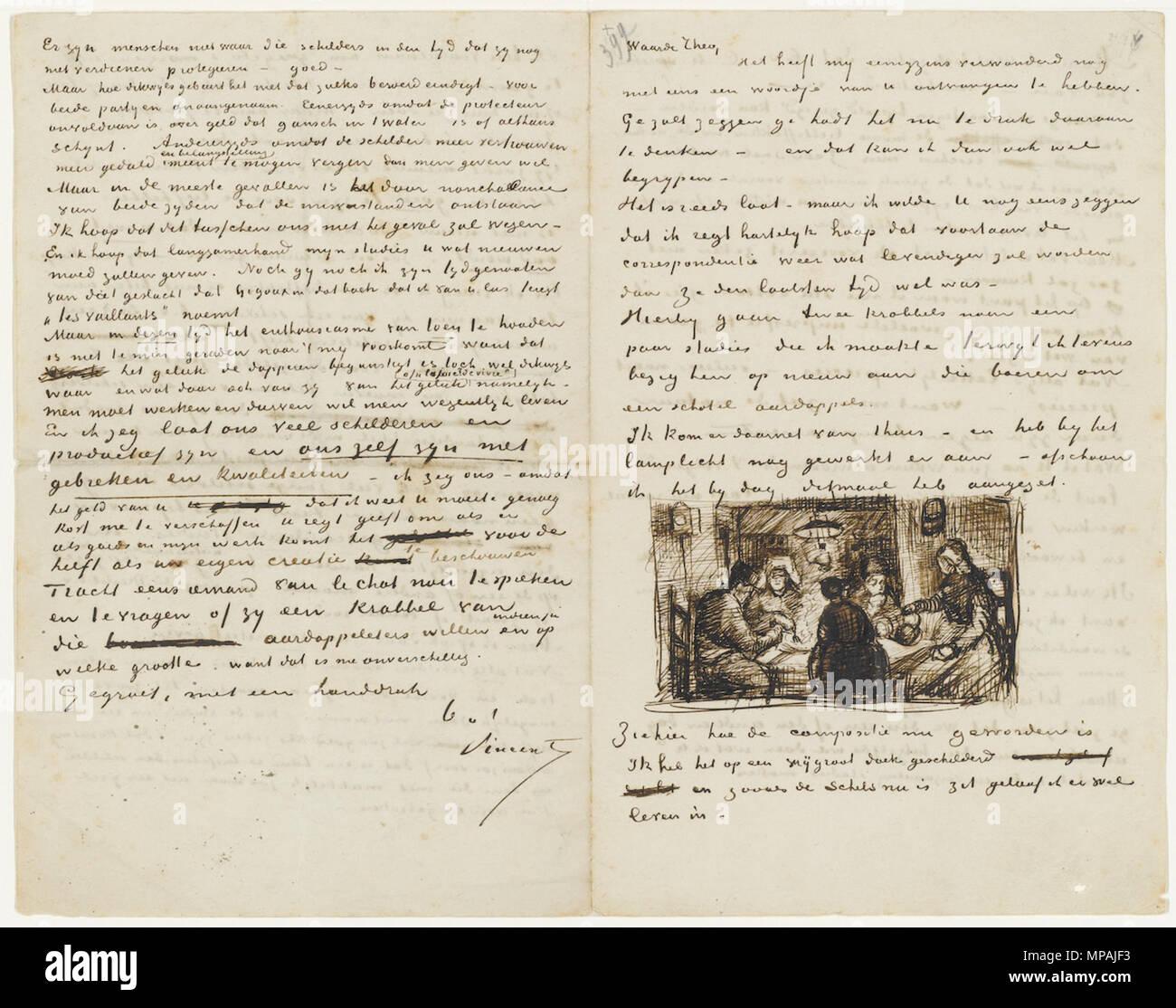 Vincent Van 1853 1890 Imágenes De Stock & Vincent Van 1853 1890 ...