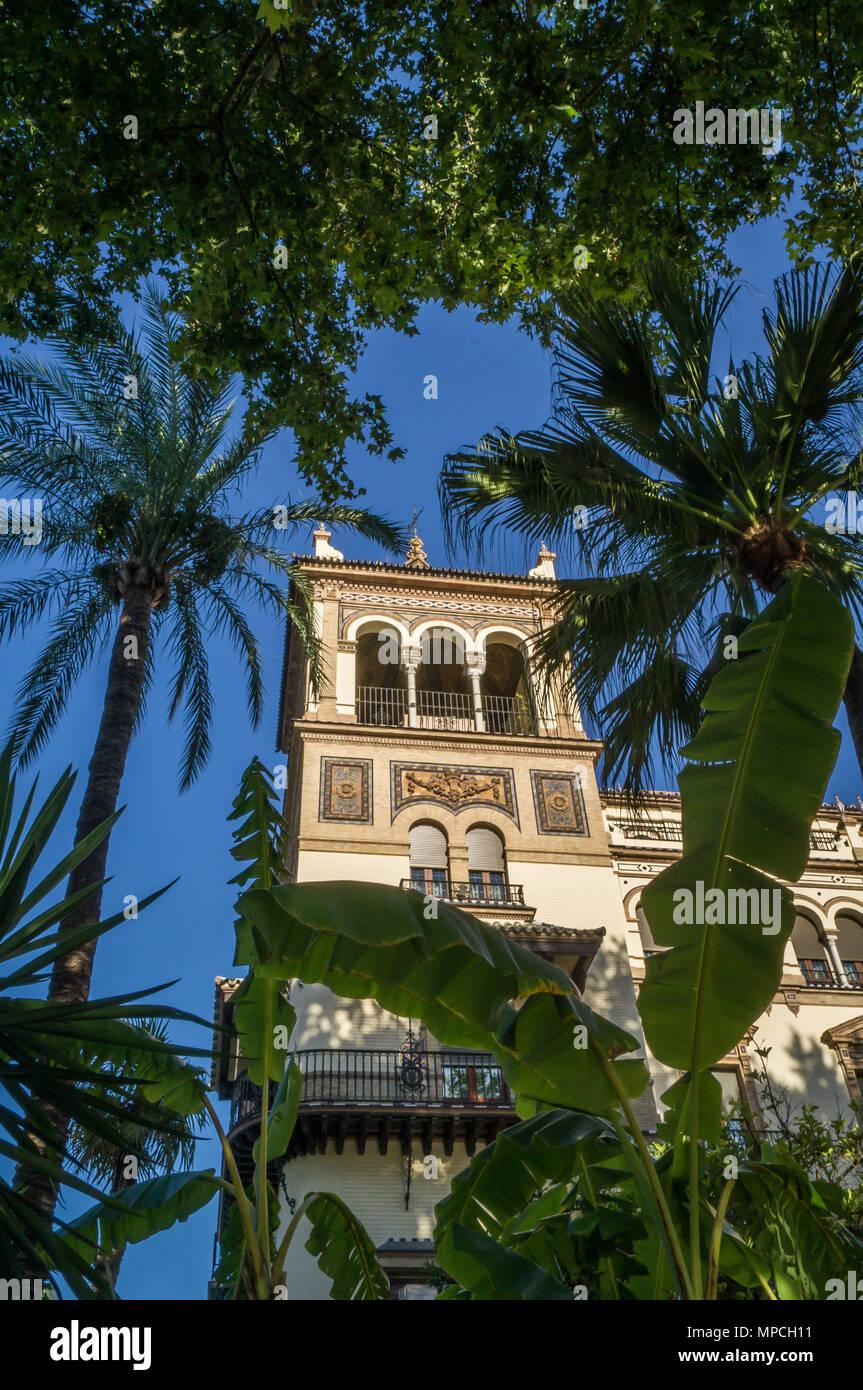 Alphonse 13 hotel en Sevilla, Alfonso trece hoteles en España Imagen De Stock