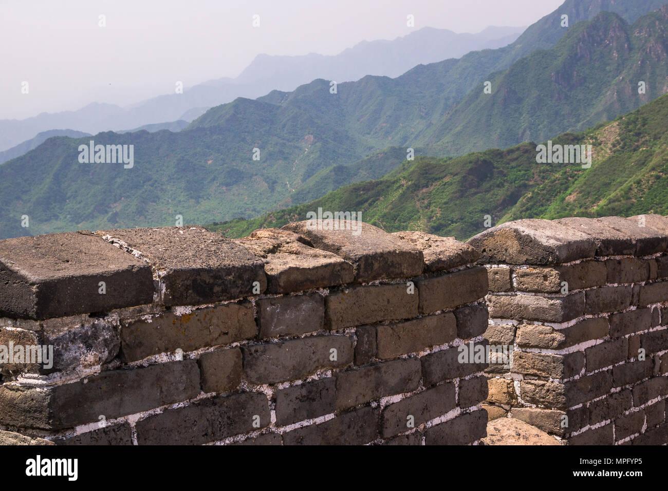 La Gran Muralla de China Foto de stock