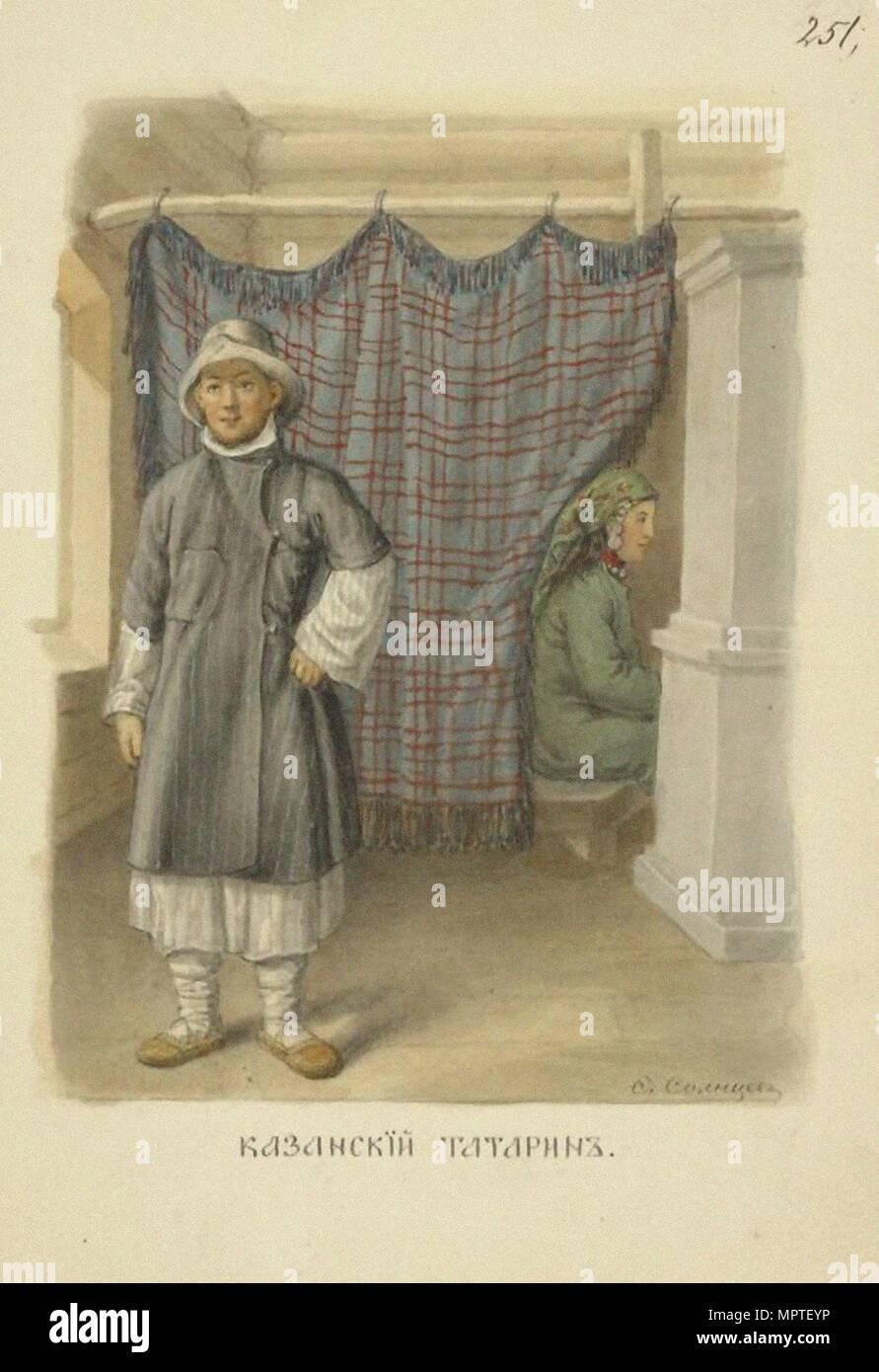 275dedb11 Tártaro de Kazán (de la serie hombre vestido del estado ruso), 1869 ...