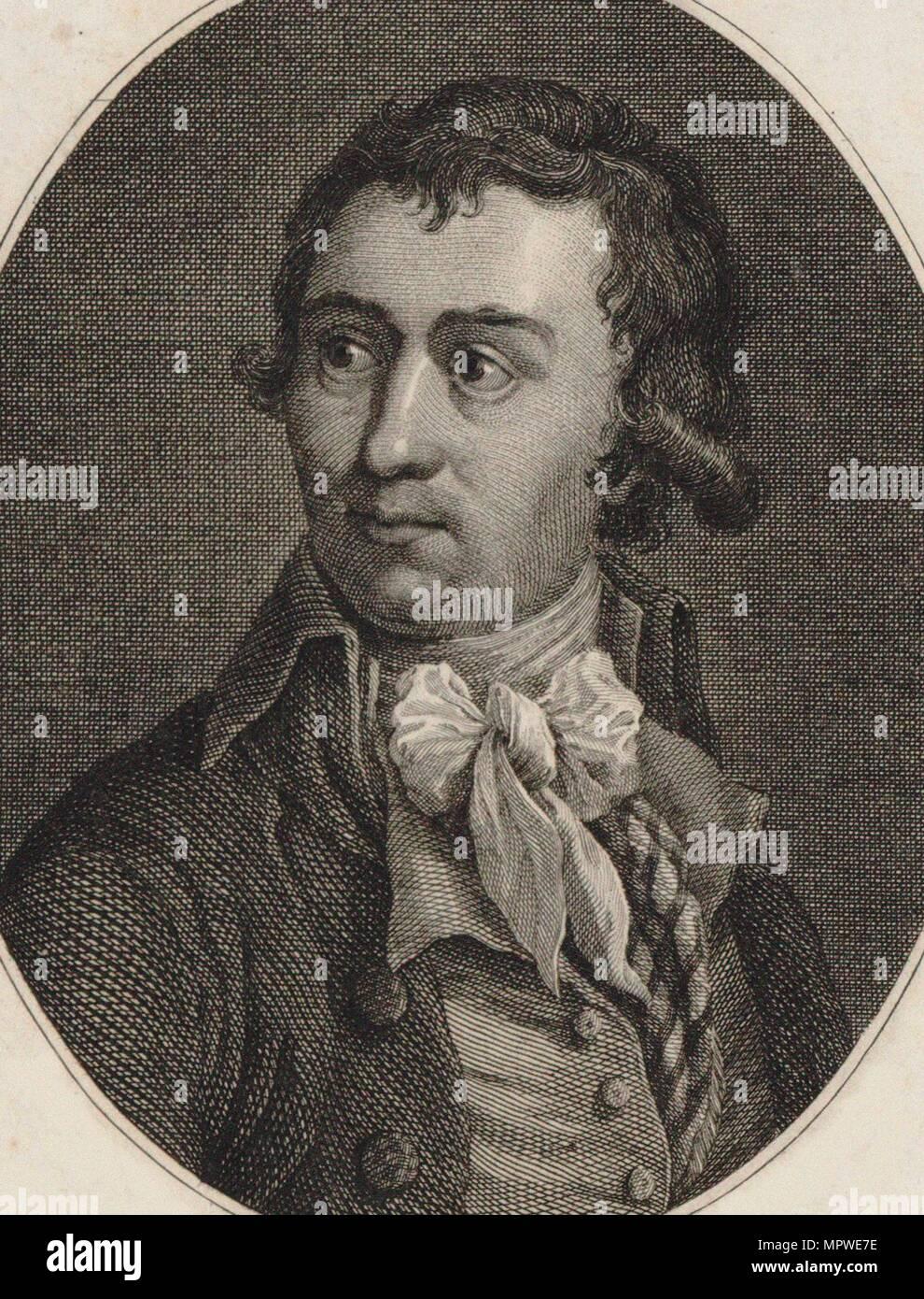 Charles Éléonor Dufriche de Valazé (1751-1793), 1790. Foto de stock