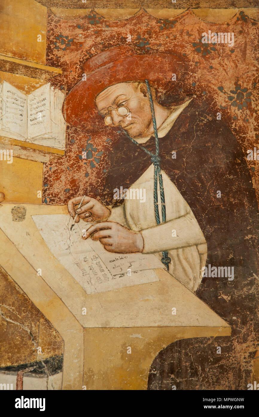 Hugo de Saint-Cher, 1351-1352. Imagen De Stock