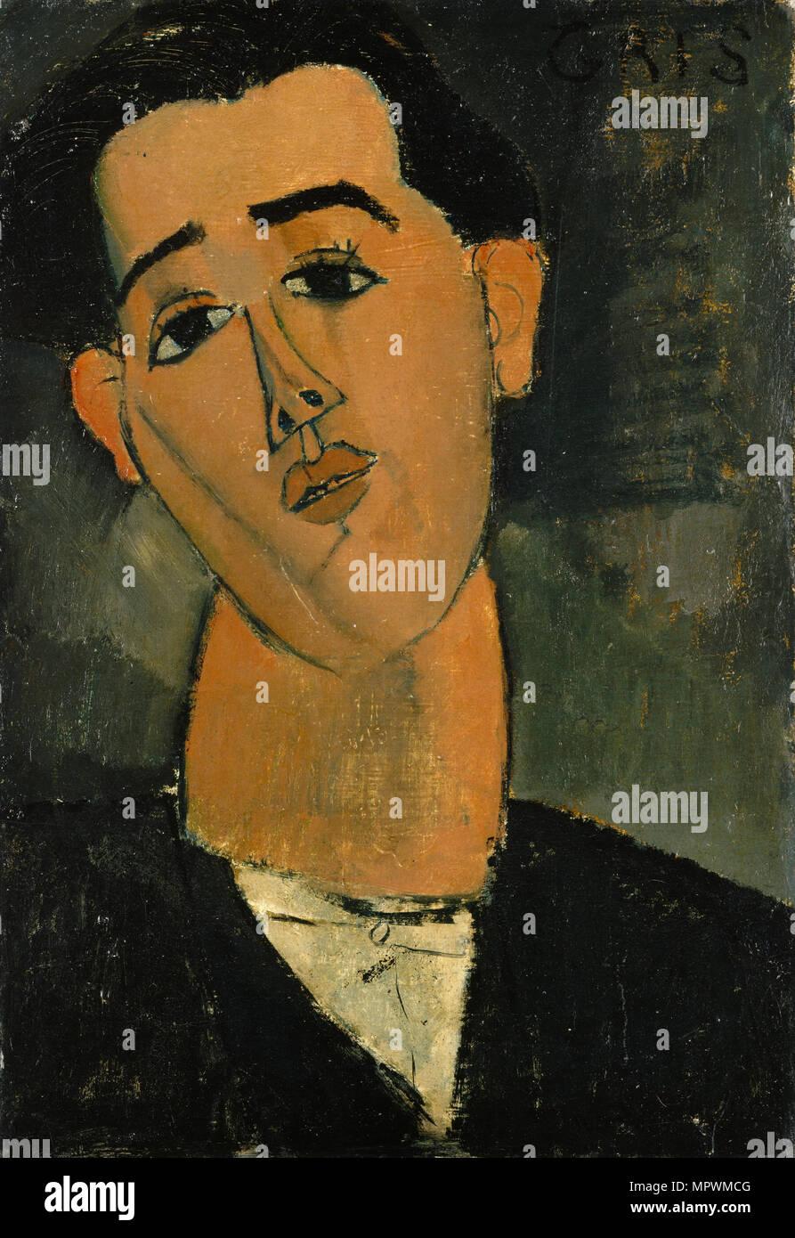 Retrato de Juan Gris (1887-1927), 1915. Imagen De Stock
