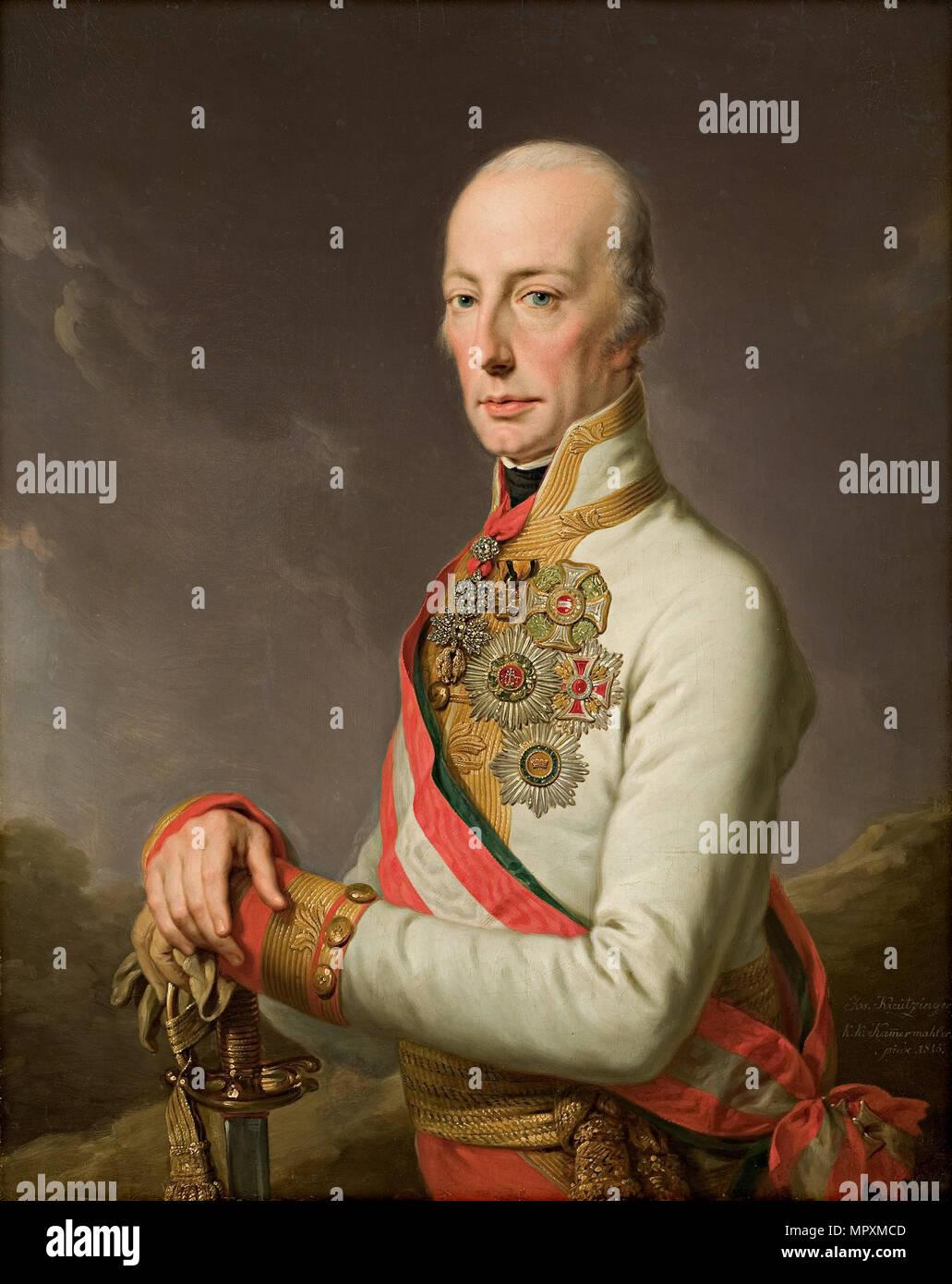 Retrato Del Emperador Del Sacro Imperio Romano Germánico Francisco Ii 1768 1835 1815 Fotografía De Stock Alamy