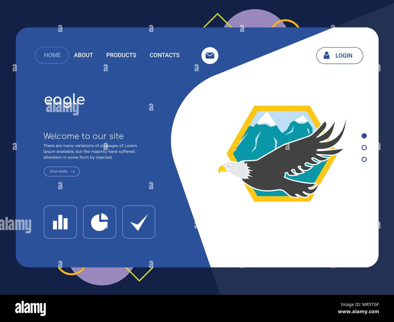 Increíble Página De águila Modelo - Ideas Creativas para Colorear ...