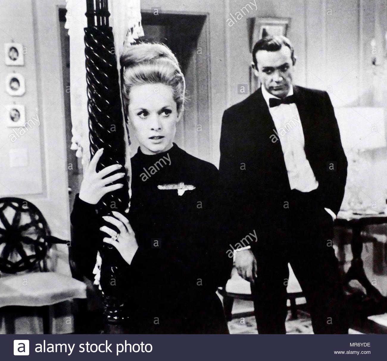 Marnie es una película de suspense psicológico estadounidense de 1964 dirigida por Alfred Hitchcock. El guión de Jay Presionaren Allen estaba basada en la novela de 1961 del mismo nombre por Winston Graham. La película está protagonizada por Tippi Hedren y Sean Connery. Imagen De Stock