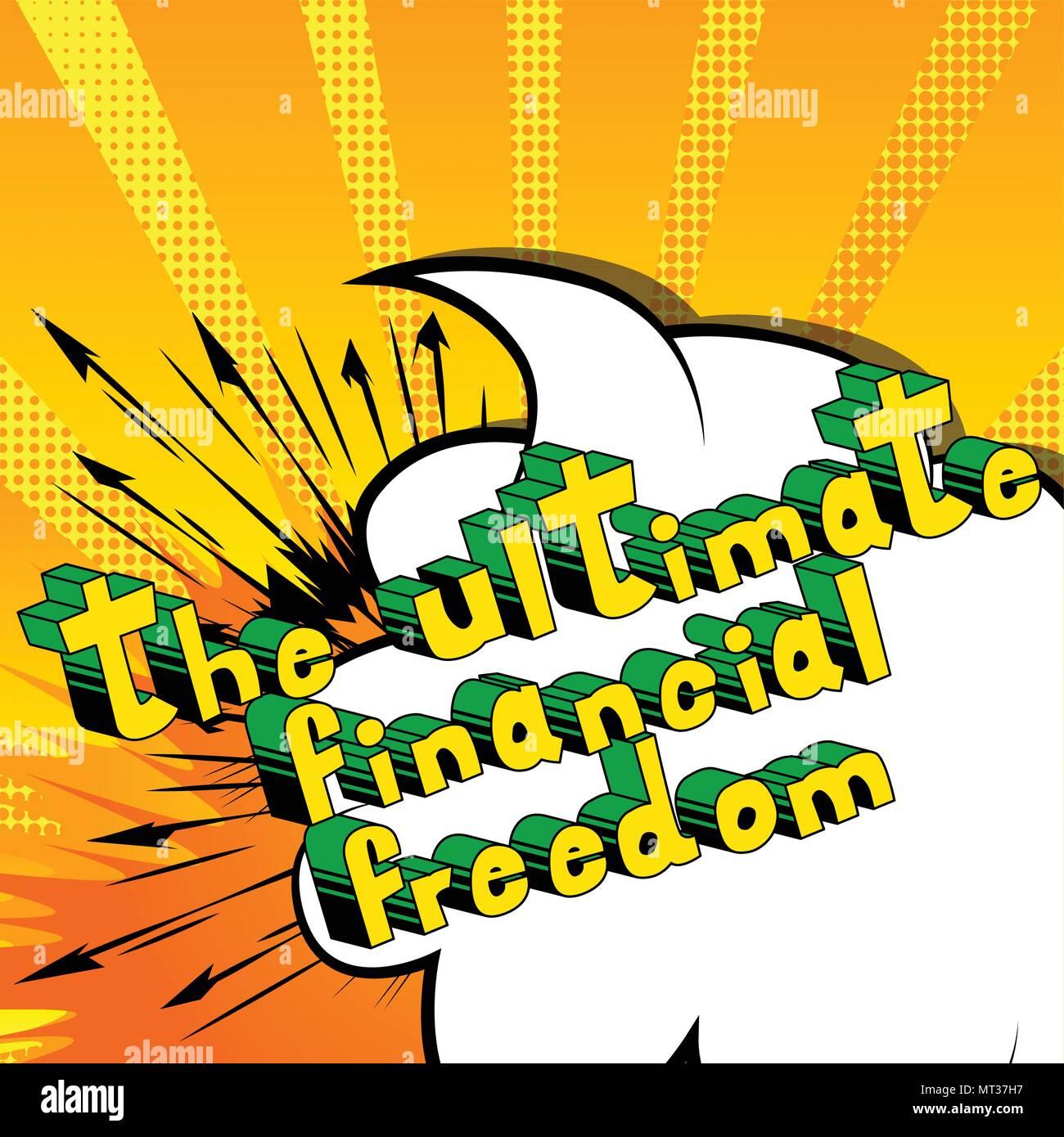 Lo último en libertad financiera - Historieta palabras en resumen ...
