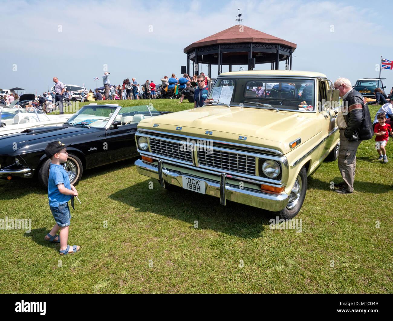 Tratar classic car Show 2018 Imagen De Stock